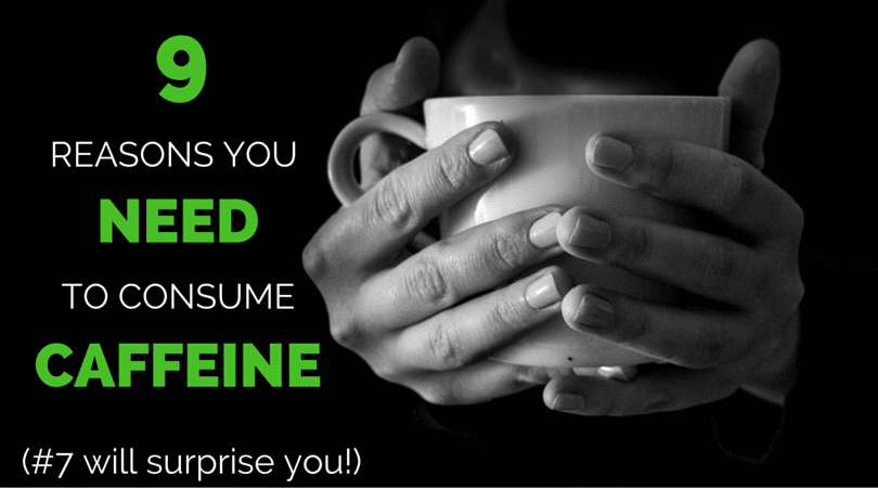 A few convincing reasons to include coffee in your routine